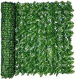HSWYJJPFB Malla De Ocultacion Jardin Ocultacion Jardin Pared de Cobertura de privacidad del Panel de Cobertura de la sandía de la Hiedra de la decoración Interior al Aire Libre Fences 0911(Size:0.5*