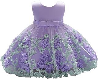 6e7004bc9638d DAY8 Vêtements Bébé Fille Naissance Été Robe Bébé Fille Cérémonie Princesse  Mariage Baptême Fête 0-