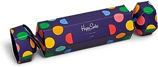 Happy Socks, caja de navidad para mujeres - Big Dot - 2 piezas (36-40)