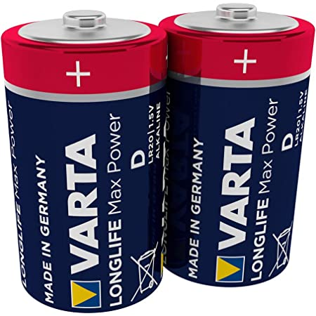 6 X Mono D Lr20 Batterie Varta High Energy Elektronik