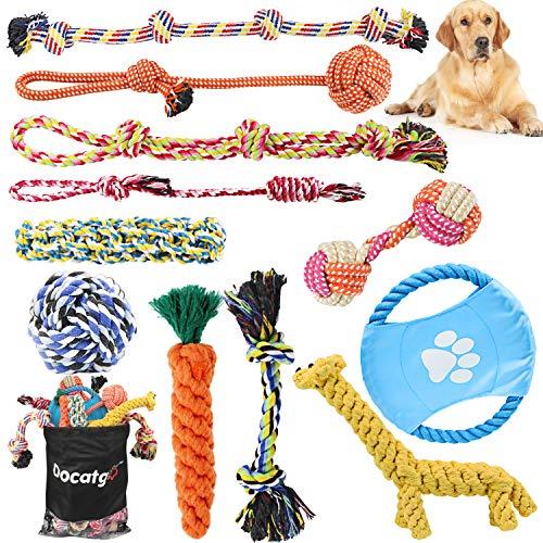 Set de juguetes para perros de Docatgo