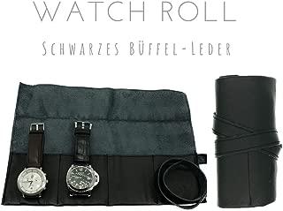 Casanova Marke RFID Geldb/örse Herren 10077 Schwarz Herrenbrieftasche Handarbeit Aus Rindsleder Ref