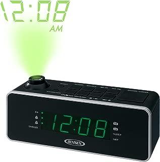 JENSEN JCR-235 Dual Alarm Projection Clock Radio