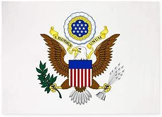 CafePress United States Great Seal Emblem Coa Decorative Area Rug, 5'x7' Throw Rug