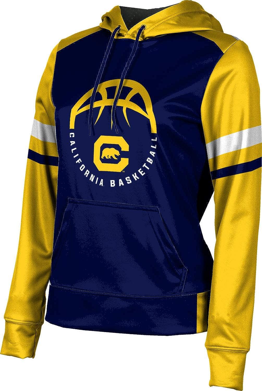 ProSphere University of California, Berkeley Basketball Girls' Pullover Hoodie, School Spirit Sweatshirt (Old School)
