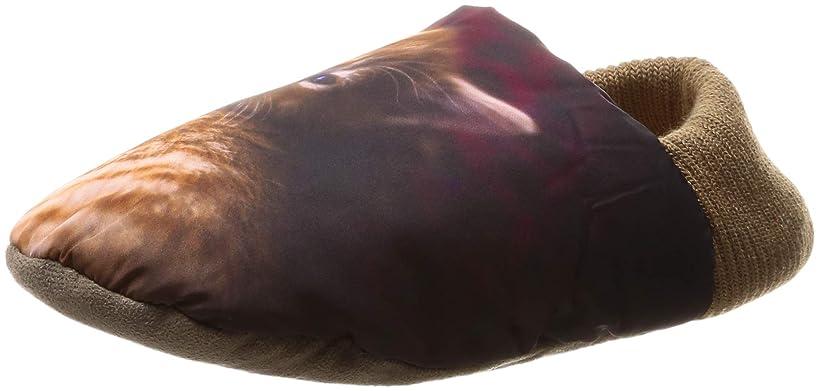 映画サイトホイップ[グンゼ] ルームシューズ ウチコレ バウンドヒータープラス バブーシュタイプ 猫 AUJ515