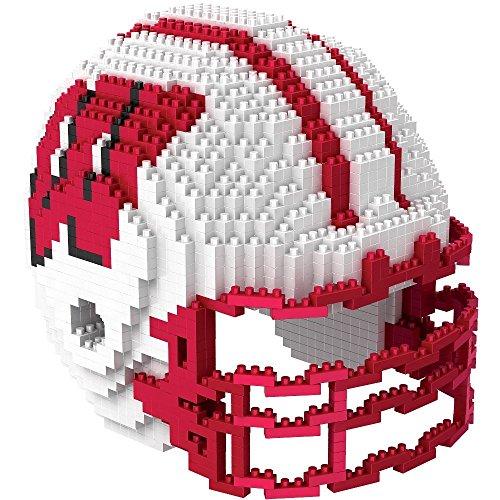 FOCO NCAA Wisconsin 3D BRXLZ - Helmet