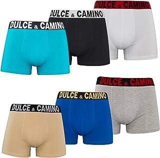 DOUBLE M, Calzoncillos Hombre Bóxer Algodón, Ropa Interior Masculina, Calzoncillo Colores Lisos, Bóxer para Hombre, Bóxer ...