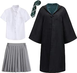 Procedura guidata bambino Robe Magic Halloween Costume Scuola Unisex Ragazzi Ragazze