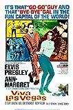 MCPosters Viva Las Vegas Elvis Presley GLOSSY FINISH Movie Poster - MCP499 (24' x 36' (61cm x 91.5cm))