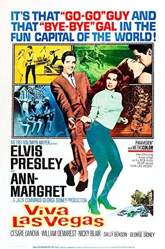 MCPosters Viva Las Vegas Elvis Presley GLOSSY FINISH Movie Poster - MCP499 (24