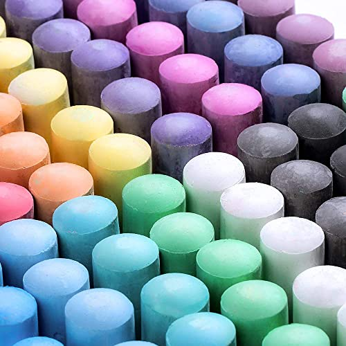 15 JUMBO Tiza color pavimento para niños Niños Jardín Parque Infantil Actividad Craft