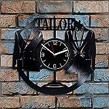 Reloj de pared de vinilo con diseño de profesión de 30,48 cm...