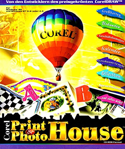 Corel Print House & Corel Photo House