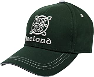 Traditional Craft Green Ireland Celtic Knot Baseball Cap
