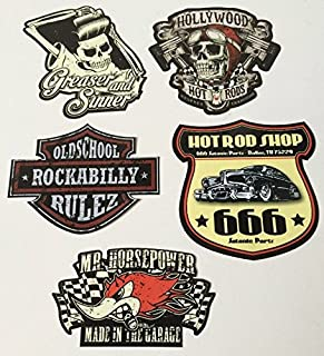 Suchergebnis Auf Für Rockabilly Aufkleber Auto Motorrad