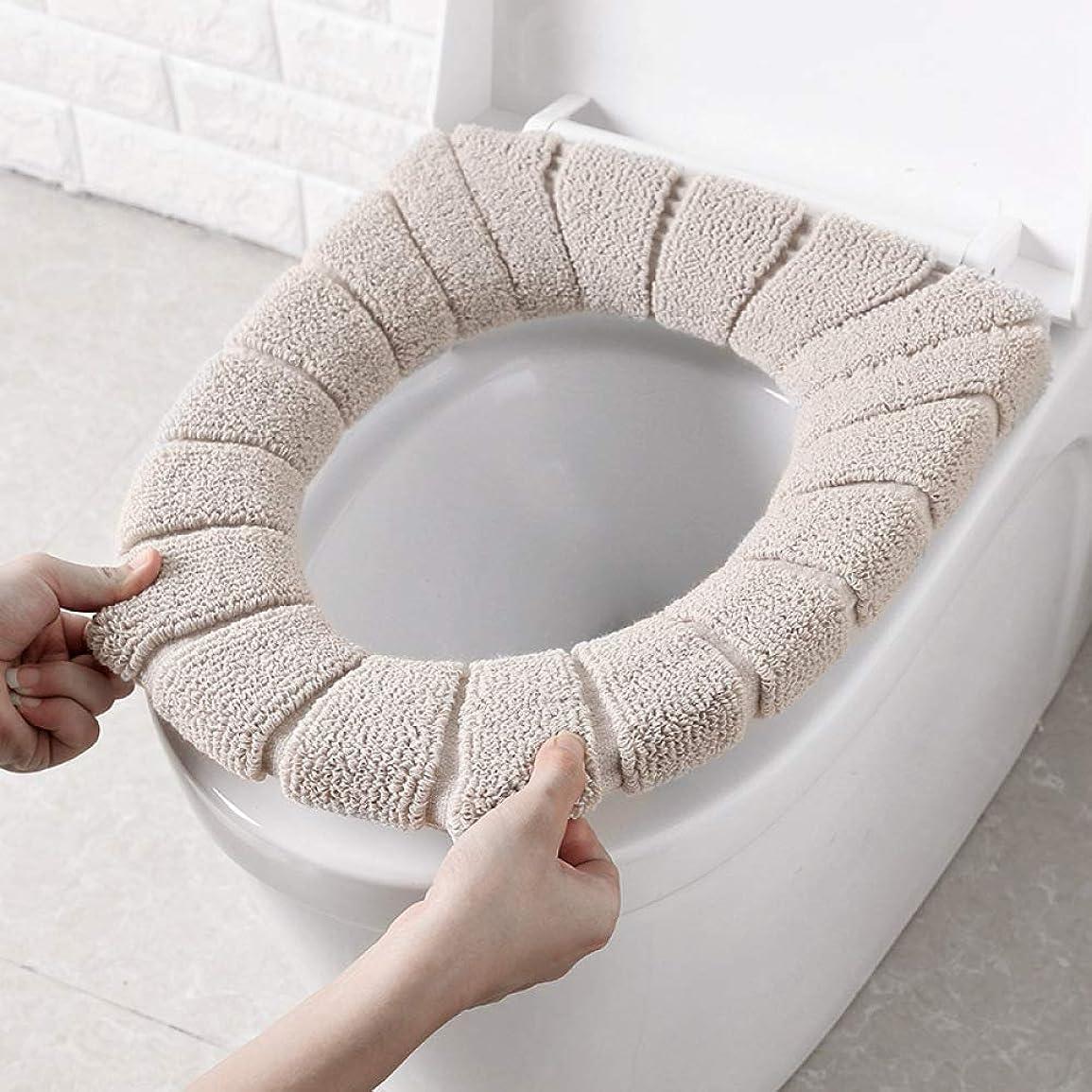 作成者手錠ヒゲクジラ冬の浴室トイレパッドクッションパッド入りトイレパッドクッショントイレカバーアクセサリー