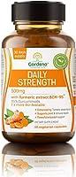 امتصاص فائق الكركم BCM 95® من Gardeno® | يعزز الاستجابة الصحية للالتهابات | 500 × أكثر من الكركم | 60 كبسولة نباتية