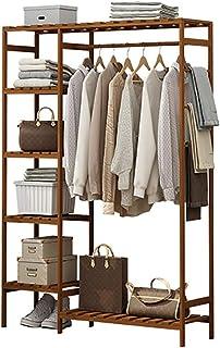 QNDDDD Portemanteau, Porte-Manteau Porte-Manteau Vêtements Multi-Fonctionnels Rack de Rangement Armoire de Ménage Étagère ...