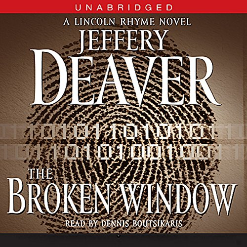 The Broken Window     A Lincoln Rhyme Novel, Book 8              Auteur(s):                                                                                                                                 Jeffery Deaver                               Narrateur(s):                                                                                                                                 Dennis Boutsikaris                      Durée: 14 h et 8 min     1 évaluation     Au global 3,0