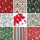 10 Stück 45,5 cm x 55,5 cm Mode Weihnachtsstil Top