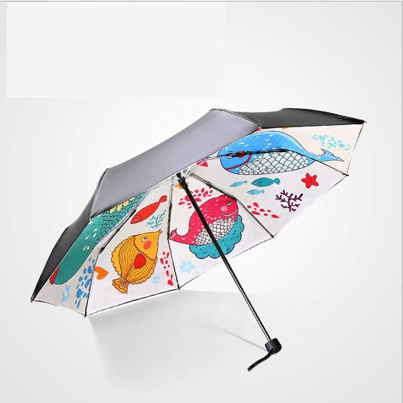 不一致プラグ選挙傘 簡単二重黒い傘/折りたたみ日焼け止めUV屋外ビニールシェード傘傘 (色 : ホワイト)