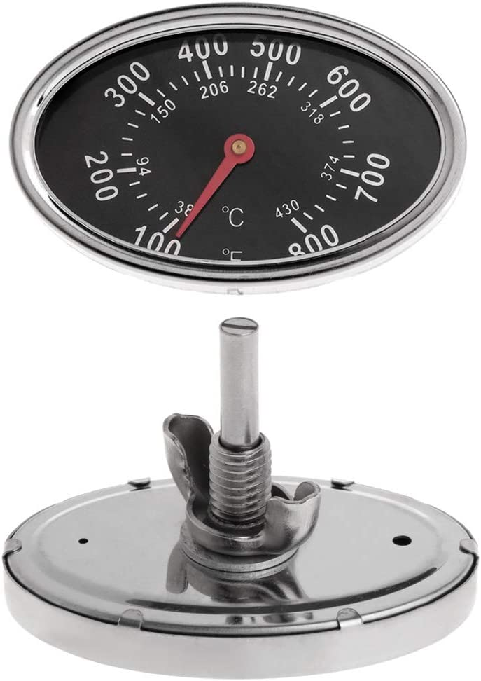 caralin 800℉ Oval New product BBQ Pit Thermometer Ranking TOP4 Smoker Tem Dial Grill