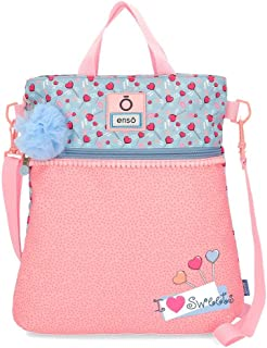 Enso I love sweets Bolso Shopping Multicolor 31,5x36x5,5 cms Poliéster