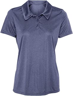 cc7958418 Animal Den Women's Dry-Fit Golf Polo Shirts 3-Button Golf Polo's in 20