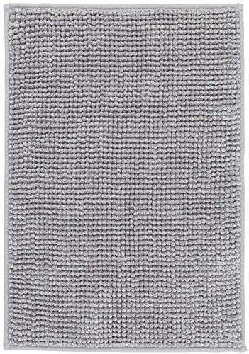 IKEA Supersoft Bath Shower Mat Rug Bathtub Bathroom Floor TOFTBO 16 x 24 (Gray-White Melange)