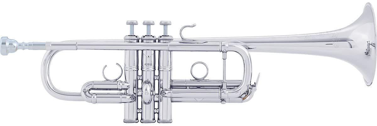 Bach AC190 It is very popular Artisan Series Max 70% OFF Stradivarius C Silver Trumpet Plated