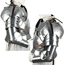 Complete Medieval Arms Armor Set Metallic One Size