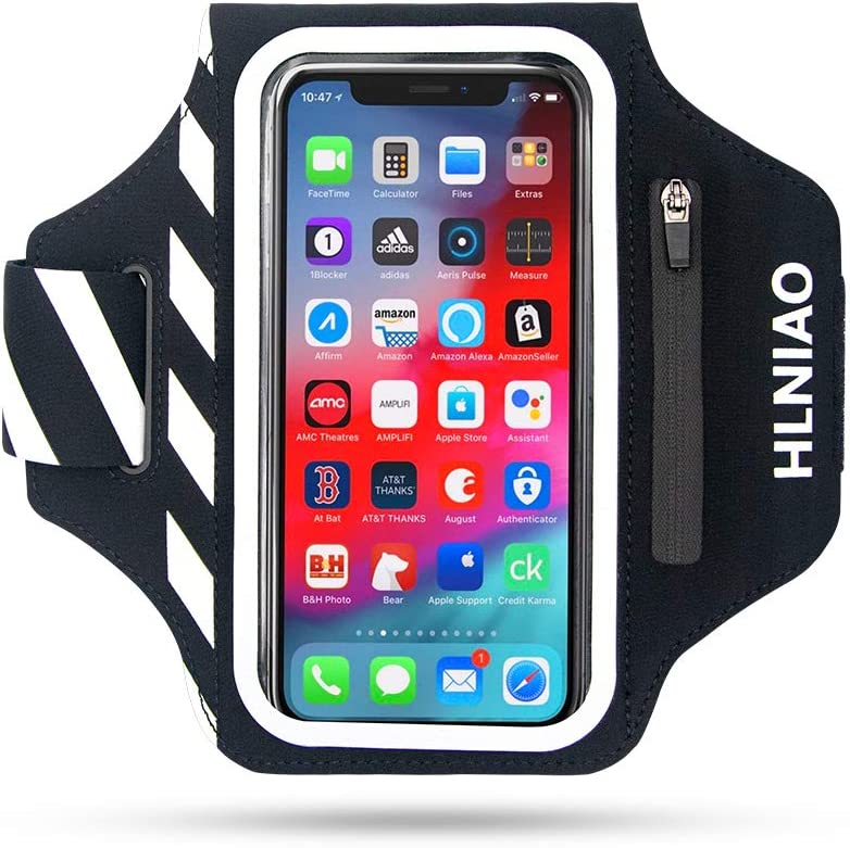 HLNIAO Many popular brands Cell Phone Armband for iPhone 11 PRO shop MAX 7 8 Plus XR SE
