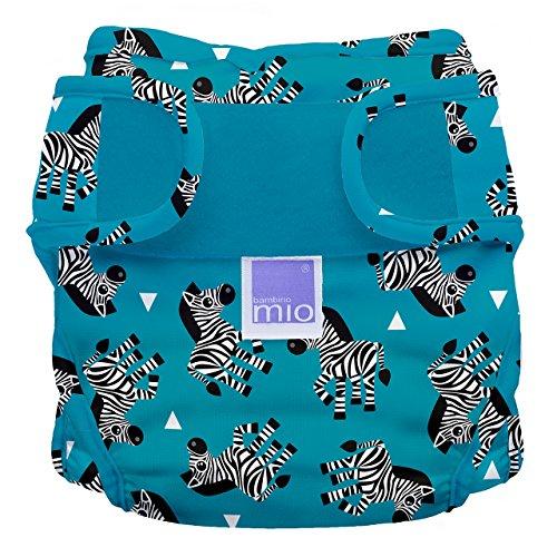 Bambino Mio Bambino Mio, mioduo Windelüberhose, Zebra Streifen, Größe 1 (<9Kg)