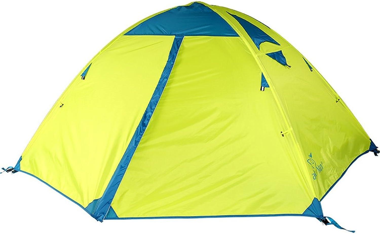 CUI XIA UK Tent Outdoor 2 Personen Zelt Feld Camping Double Layer Wasserdichte Winddichte Kletterausrüstung