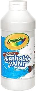 Crayola 繪兒樂 16-oz.可水洗顏料-白色 54-20167053