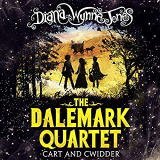 Cart and Cwidder     The Dalemark Quartet, Book 1              By:                                                                                                                                 Diana Wynne Jones                               Narrated by:                                                                                                                                 Huw Parmenter                      Length: 5 hrs and 37 mins     34 ratings     Overall 4.5