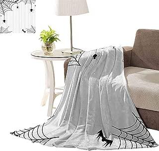 crochet spider web blanket pattern