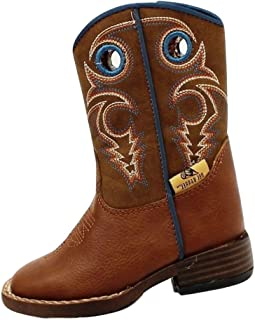 Double Barrel Toddler-Boys' Dylan Cowboy Boot Square Toe - 4416232