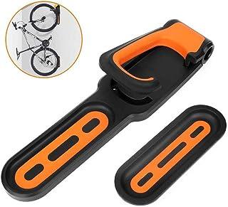 Aparcamiento for bicicletas hebilla ajustable montado en la pared Percha for bicicletas montado en Rack de almacenamient...