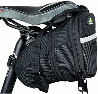 Bike Bags Under Seat Expandable MTB Saddle Bag Cycling Bags for Road Bikes Pouch Large Mountain Bike Bag 1.2L High Capacity