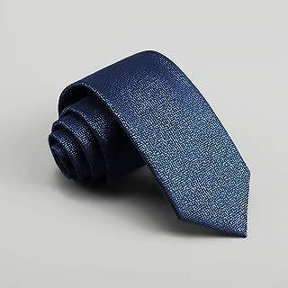 Men's Casual Business Tie Solid Color Tie, Blue, Red 148 × 7cm, Father, MSJQQ (Color : Blue)