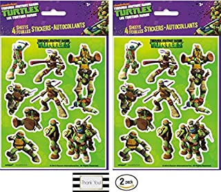Best ninja turtle stickers Reviews