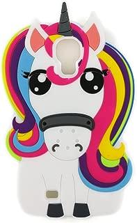 BOLOTO Galaxy S4 Case, 3D Cute Cartoon Rainbow Unicorn Horse Animal Soft Silicone Rubber Protector Skin Case Cover for Samsung Galaxy S4 S IV I9500 GS4 (Unicorn)