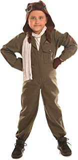 Air Force Pilot Costume for Little Boys Girls Halloween Christmas Suits Cosplay