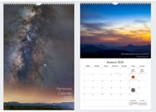 Astronomy Wall Calendar 2020 : A Year In Astrophotography
