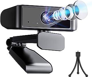Biming高画質 ウェブカメラ 【2年間品質保証】 2020最新 フルHD 1080P 30FPS 120度広角 Webカメラ 挿すだけ使える 自動光補正 内臓マイク USBカメラ ノイズ対策 在宅勤務 会議 授業 ビデオ通話用 Windows/Android/Limuxシステム対応 skype Youtube等