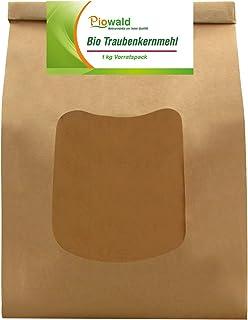 BIO Traubenkernmehl - 1 kg Vorratspackung