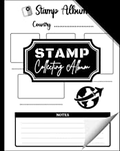Stamp Collecting Album: Stamp Collecting Album to Collect Your All Favorite Stamp or Currencies | Stamp Album for Kids and...