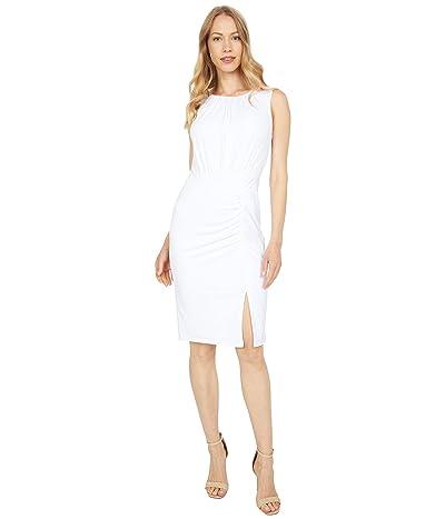 Calvin Klein Ruched Detail Jersey Dress Women
